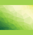 abstract triangular yellow white green bio vector image