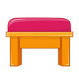 chair isolated vector image vector image