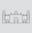 Dhaka vector image vector image