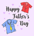 greeting fro father day style collection vector image vector image