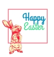 Happy Easter Hand Drawn1 vector image vector image