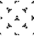 lumberjack pattern seamless black vector image vector image