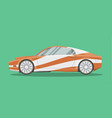 modern sports car vector image