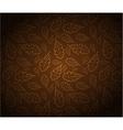 Oak leafs texture vector image