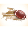Rugby background vector image