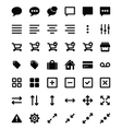 Set of universal icons 2 vector image vector image