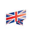 United kingdom flag on a