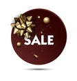 Christmas or New year holiday sale price circle vector image