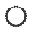 beads necklace jewelry icon glyph style