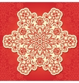 Floral traditional ornament vector image vector image