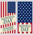happy memorial day greeting card flyer vector image vector image