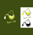 logo for the company engaged olives oil vector image