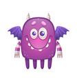 monster cartoon icon vector image