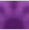 purple honeycomb - abstract geometric hexagon grid vector image vector image