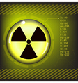 radioactive2 vector image vector image