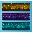 Ramadan kareem banners vector image