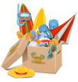 Summer Holidays Concept vector image vector image