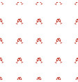 clink glasses icon pattern seamless white vector image vector image