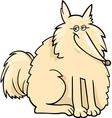 eskimo dog cartoon vector image