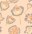 FlowersWithShadow vector image vector image