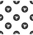 Milky way icon in black style isolated on white vector image vector image