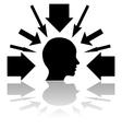 Pressure vector image vector image