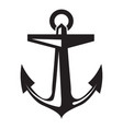 ship anchor icon simple style vector image