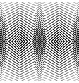white pattern with black stripes seamless vector image