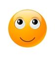 Yellow round emoticon