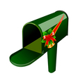 A mail box stand on vector image vector image