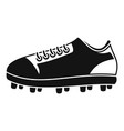 american football shoes icon simple style