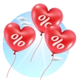 Balloons hearts sale