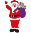 Santa Claus jolly Father Christmas vector image vector image