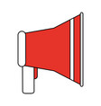 fire warning alarm vector image