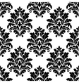 Damask seamless pattern with floral motifs vector image vector image