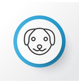 dog icon symbol premium quality isolated puppy vector image vector image
