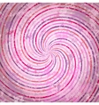 Pink swirls background vector image vector image