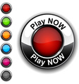 Play now button vector image vector image