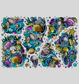 set sealife combinations objects and vector image vector image
