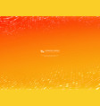 abstract gradient orange and yellow color vector image vector image
