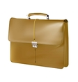 Brown Brief case vector image