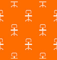 office a chair with wheels pattern seamless vector image vector image