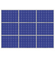 photovoltaic panel vector image vector image