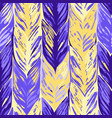 abstract seamless pattern of exotic leaves vector image vector image