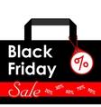 Black Friday sales Black vector image