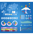 Flight infographics vector | Price: 3 Credits (USD $3)