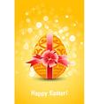 golden egg easter vector image