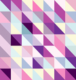 Interesting texture of colored triangles vector image