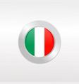 italia flag vector image vector image