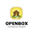 Open Box Design vector image